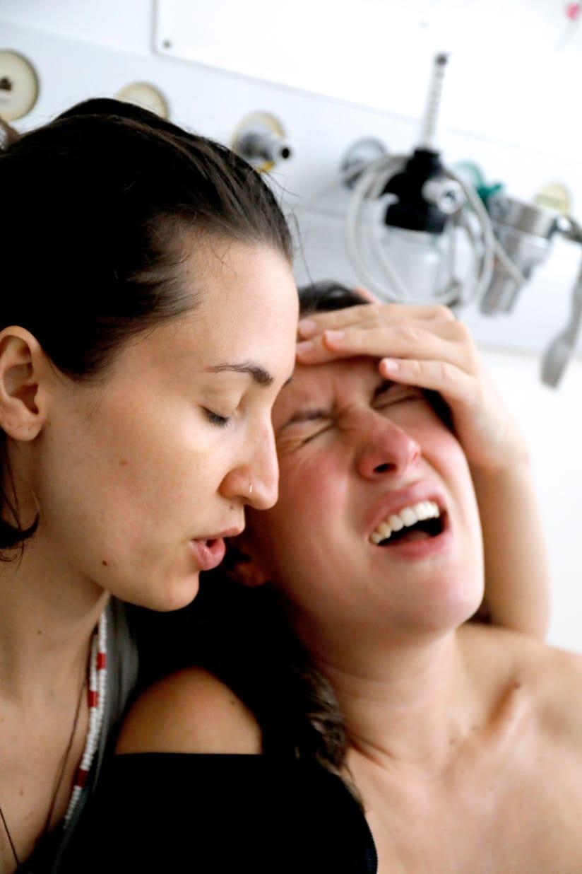 Qual é a essência da dor do parto?